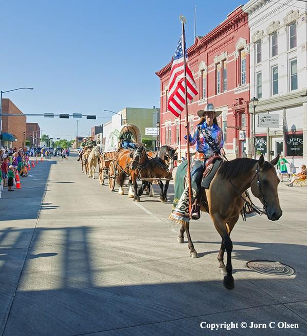 Oregon Trail Rodeo Parade